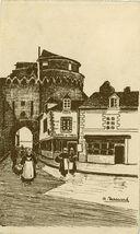 Vieille Porte à VANNES (Morbihan)   Trassard A.