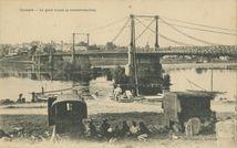 Le pont avant sa transformation |