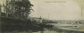 Panorama de la ville pris au Moreau |