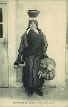 Marchande de lait des environs de Lorient |