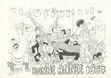 BONNE ANNEE 1987   Dubout Albert