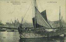 Le port - Bateau thonnier |