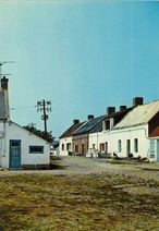 Ile Hoedic - Rue du village |