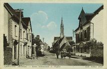 Route d'Hennebont et l'Eglise | Combier