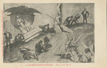 LA GLORIFICATION DE RENAN, dessin de Th. Busnel | Busnel Th&eacute