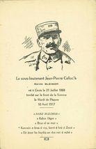Le sous-lieutenant Jean-Pierre Calloc'h |